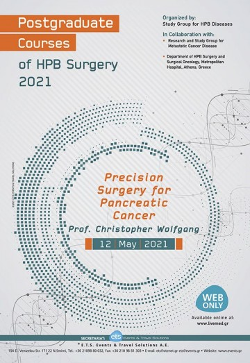 Postgraduate Courses of HPB Surgery 2021