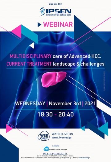 MULTIDISCIPLINARY care of Advanced HCC. CURRENT TREATMENT landscape & challenges