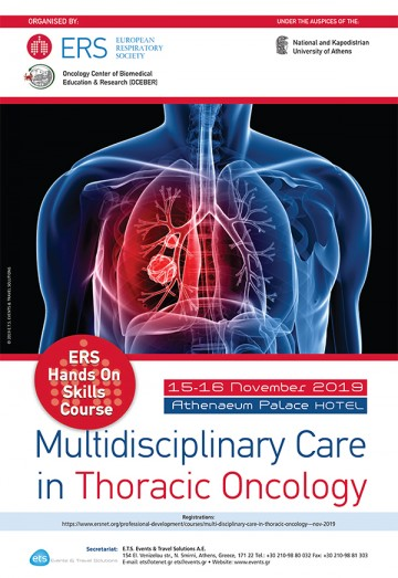 "ERS Hands On Skills Course ""Multidisciplinary Care in Thoracic Oncology"""