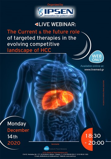 The Current & the future role of targeted therapies in the evolving competitive landscape of HCC