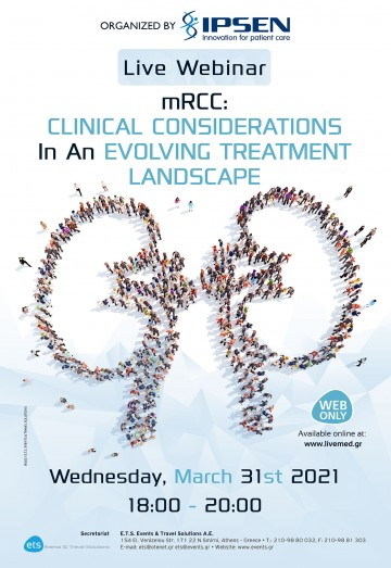 Live Webinar  - mRCC: Clinical considerations in an evolving treatment landscape