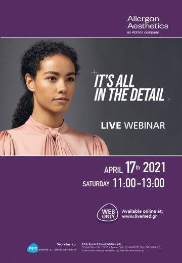 LIVE WEBINAR - IT'S ALL IN THE DETAIL