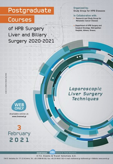 Postgraduate Courses of HPB Surgery Liver and Biliary Surgery 2020-2021 - Laparoscopic Liver Surgery Techniques