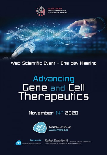 One day web Meeting - Advancing Gene and Cell Therapeutics