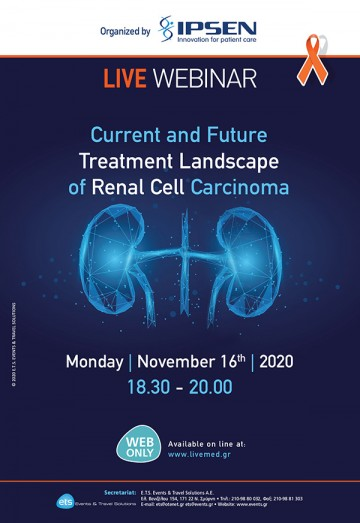 Live Webinar | Current and Future Treatment Landscape of Renal Cell Carcinoma